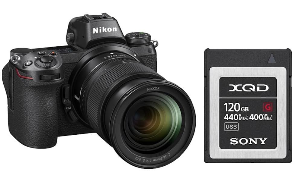 Best XQD Memory Cards for Nikon Z6 & Z7