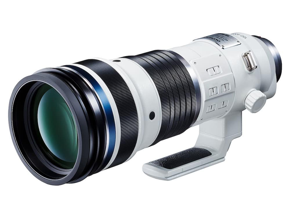 Olympus ED 150-400mm f/4.5 Pro Lens with Built-in 1.25X Teleconverter in Development
