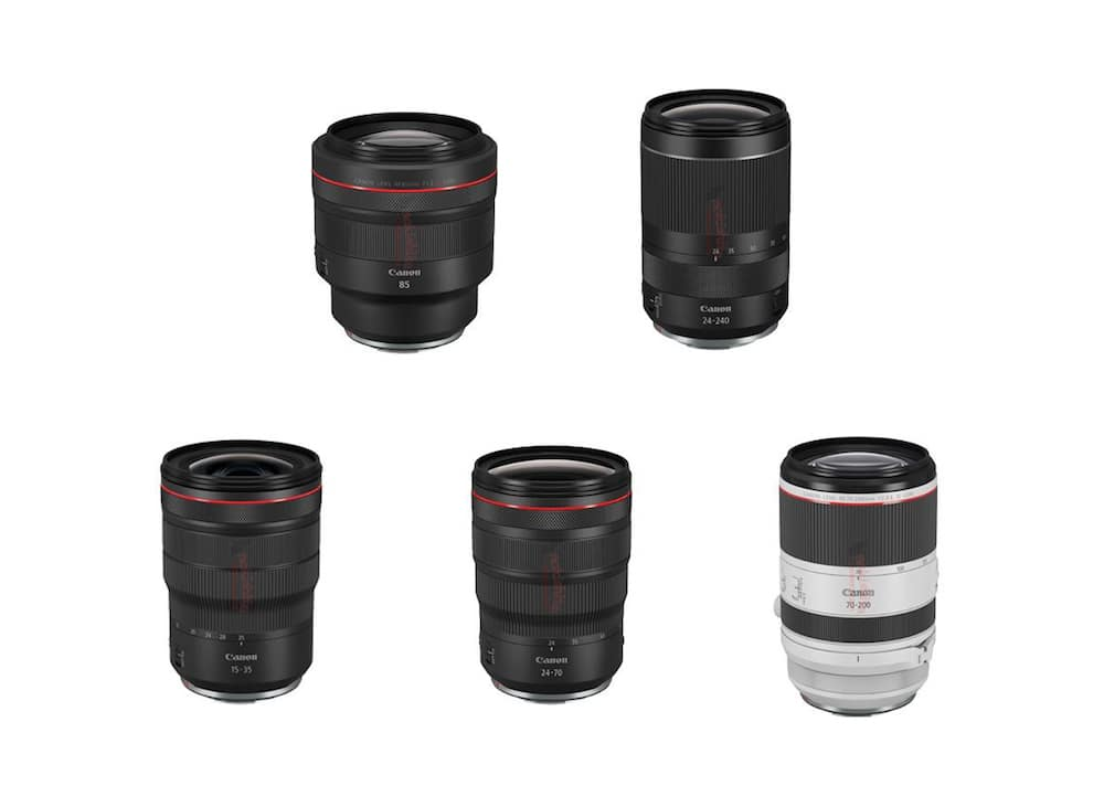 Canon to Announce RF 15-35mm f/2.8L IS, RF 24-70mm f/2.8L IS, RF 70-200mm f/2.8L IS, RF 85mm f/1.2L, RF 24-240 Lenses