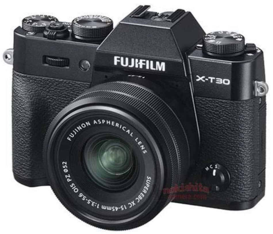 Full Fujifilm X-T30 Specifications