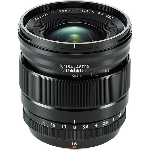 Fujifilm XF 16mm f/2.8 R WR Lens to be Announced Soon