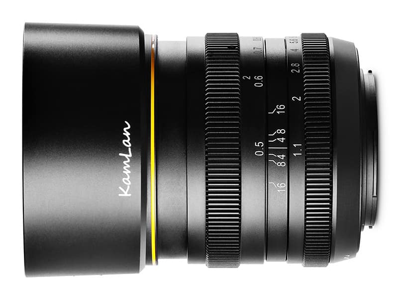Kamlan 50mm f/1.1 Mark II Lens Released