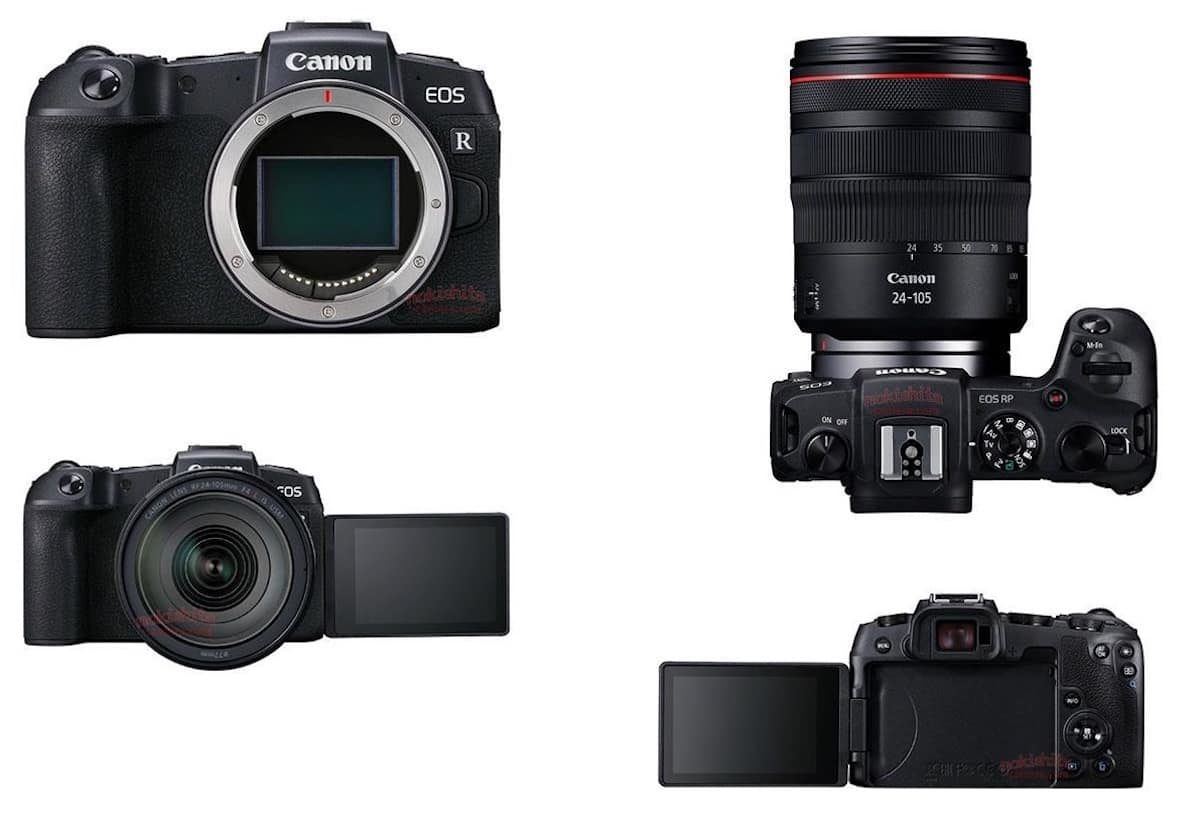 Canon EOS RP Specifications and Images