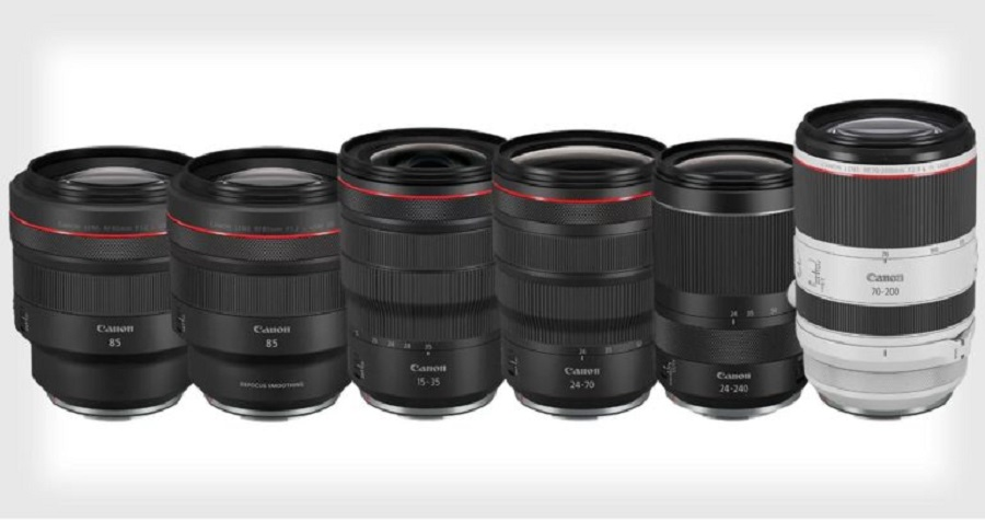 Canon Announces the Development of Six New RF Lenses