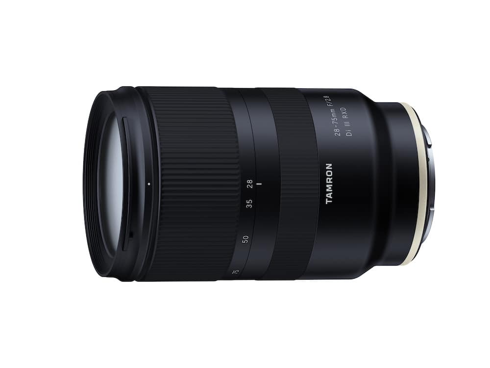 Tamron 28-75mm f/2.8 Di III RXD Lens Version 3 Firmware Released