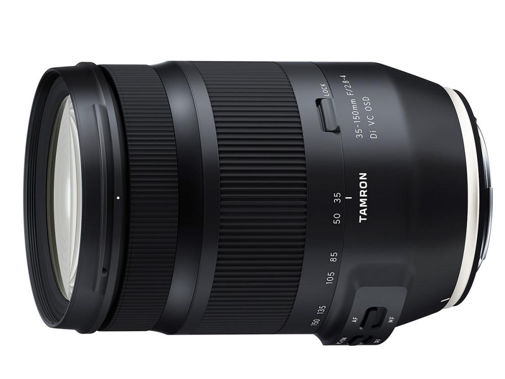 Development of Tamron FE 17-28mm f/2.8, SP 35mm f/1.4, 35-150mm f/2.8-4 Lenses Announced