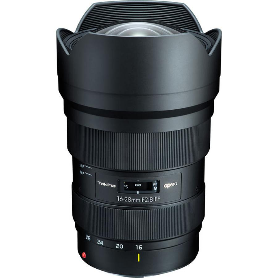 Tokina Opera 16-28mm f/2.8 FF Lens for Canon & Nikon DSLRs Announced