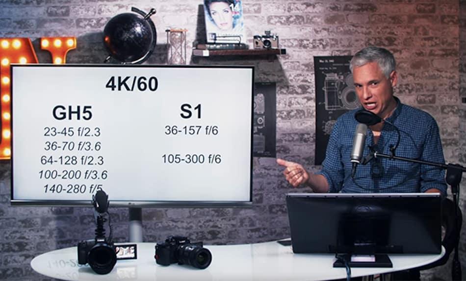 Tony Northrup Compares Panasonic S Cameras with Lumix GH5