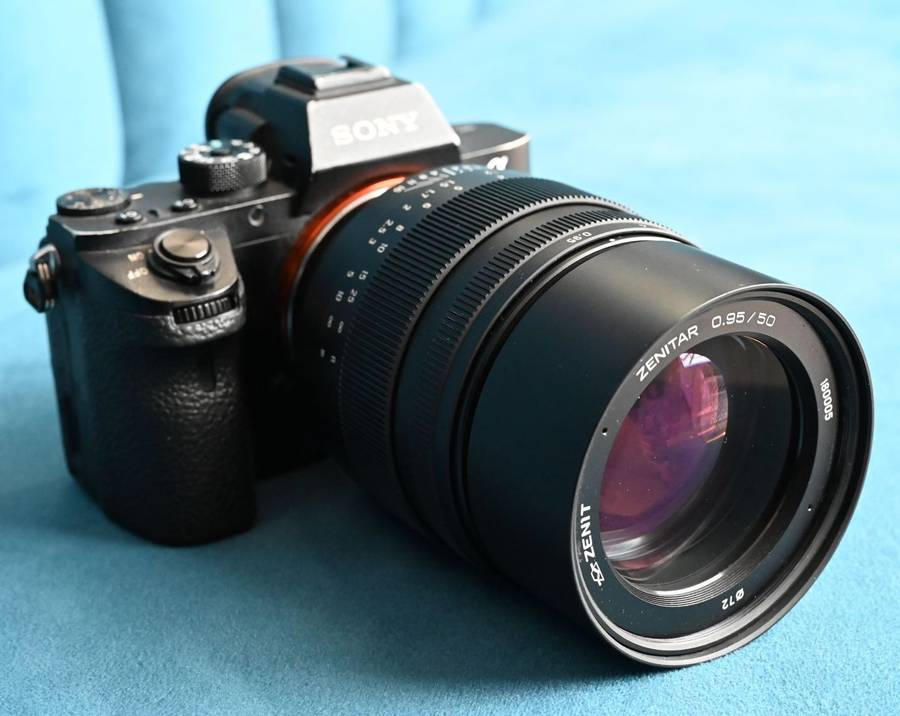 Zenitar 50mm f/0.95 Lens Officially Announced for Sony FE-mount