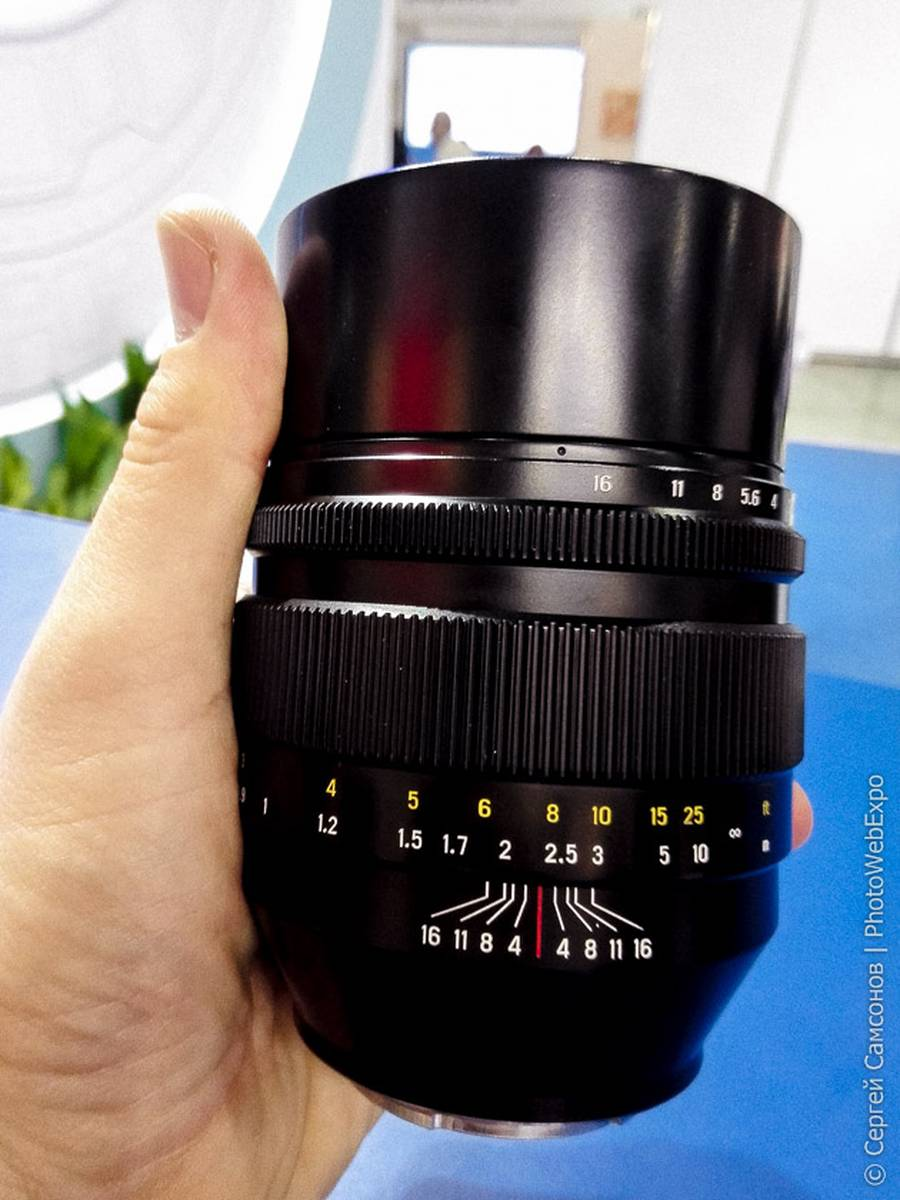 Zenitar 50mm f/0.95 Lens for Full Frame E-mount Coming on March 15