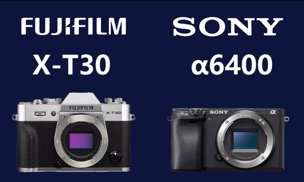 Fujifilm X-T30 and Sony a6400 Added To Studio Test Scene