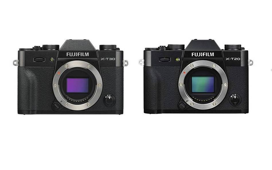 Fujifilm X-T30 vs Fujifilm X-T20 – Comparison