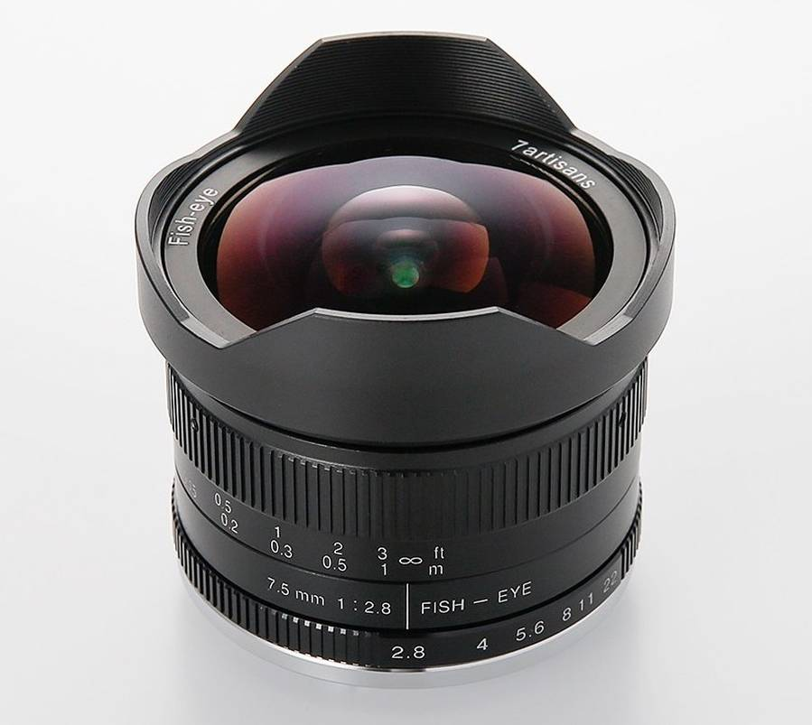 Announced : 7Artisans 7.5mm f/2.8 II Lens for Mirrorless Cameras