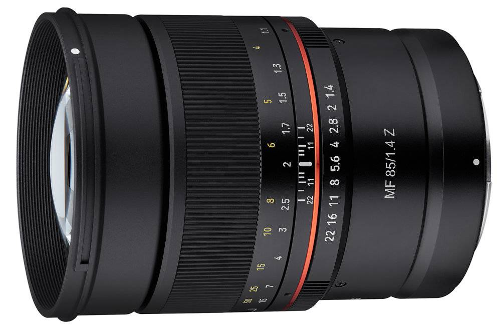 Samyang AF 85mm f/1.4 F, MF 14mm f/2.8 Z, MF 85mm f/1.4 Z Lenses for Nikon