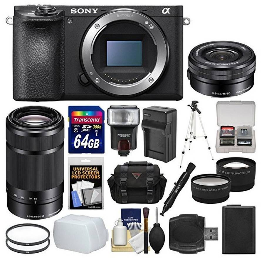 Best Sony A6500 Bundles and Deals