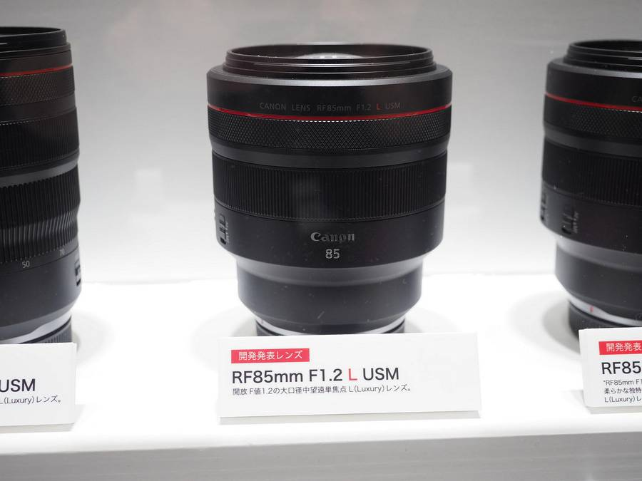 Canon RF 70-200mm f/2.8L IS USM & RF 85mm f/1.2L USM DS Lenses to be Announced Soon