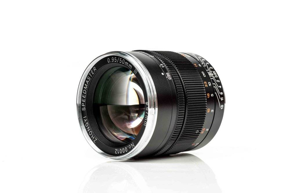 ZY Optics releases Mitakon Speedmaster 50mm f/0.95 mark III Lens