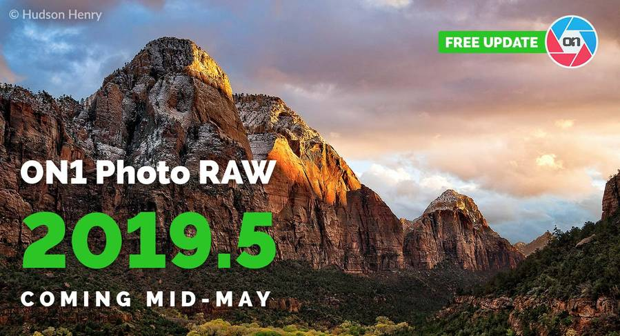 ON1 Photo RAW 2019.5 Coming in Mid-May
