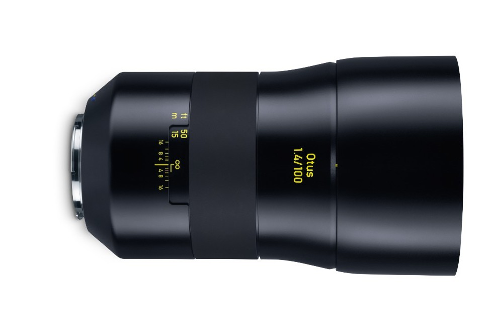 Zeiss Otus 100mm f/1.4 DSLR Lens Officially Announced