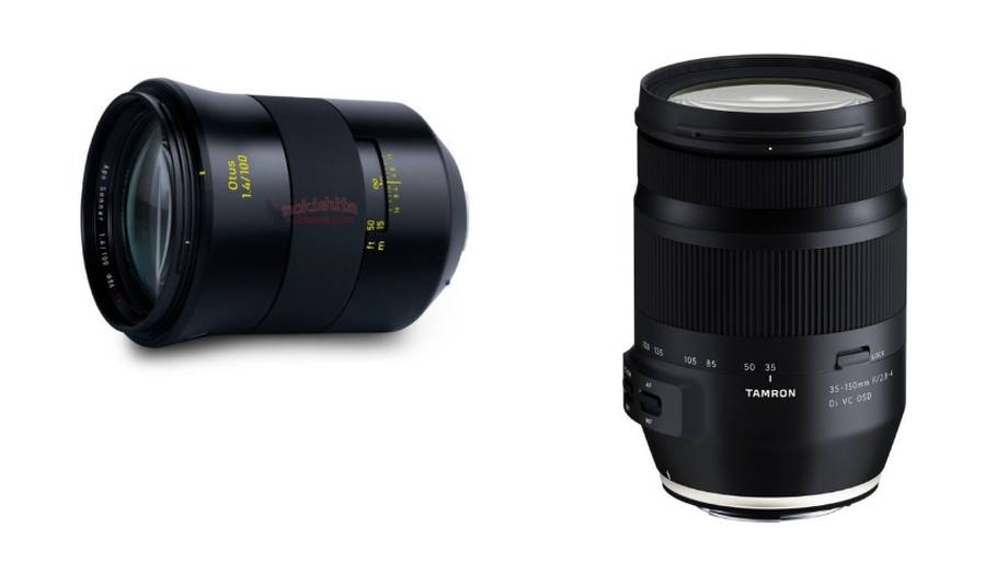 Zeiss Otus 100mm f/1.4 Lens Price $4,500, Tamron 35-150mm f/2.8-4 Di VC OSD Lens Price $700