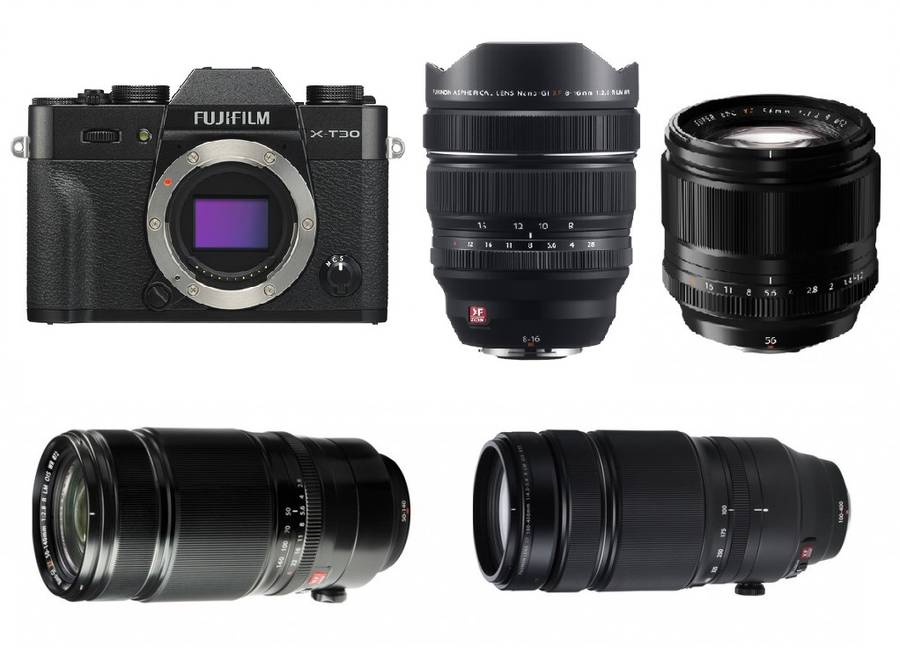 Best Lenses for Fujifilm X-T30
