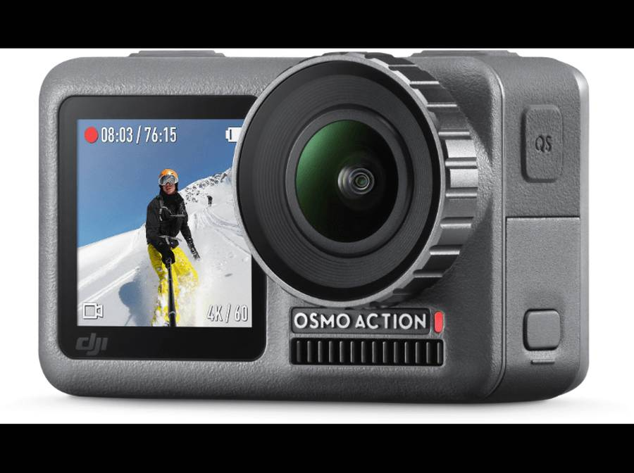 DJI Osmo Action 4K Camera Officially Announced, Price $349