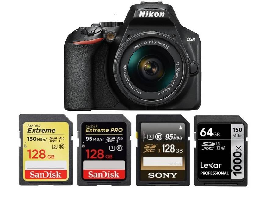 Best Memory Cards for Nikon D3500