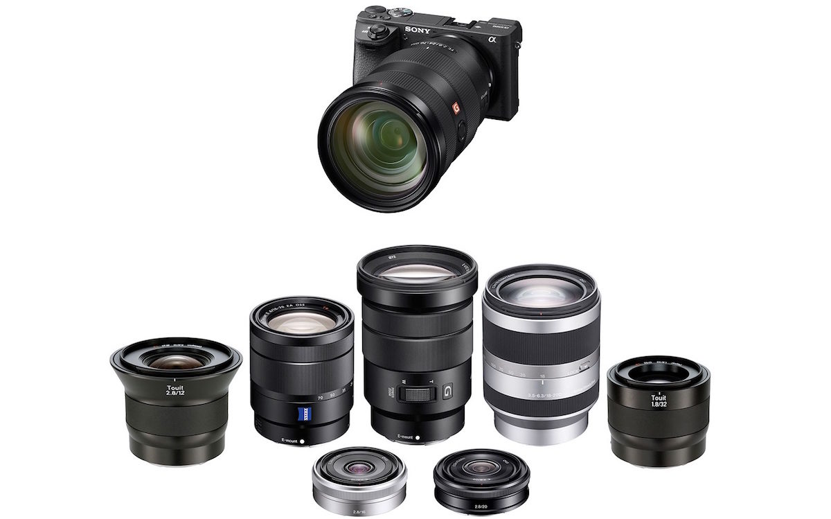Best Lenses for Sony A6500