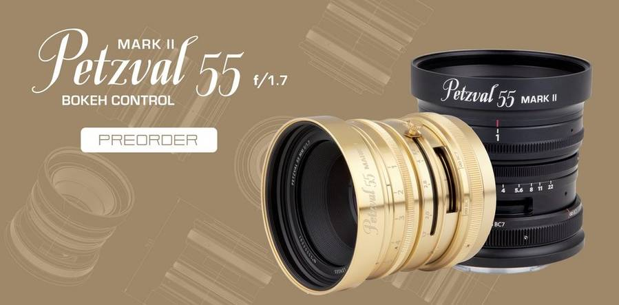 Lomography announces Petzval 55mm f/1.7 Mark II lens for full-frame mirrorless