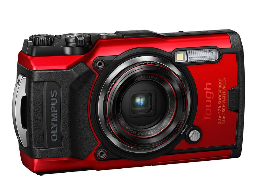 Olympus Tough TG-6 Waterproof, Dustproof, Freezeproof and Shockproof Camera