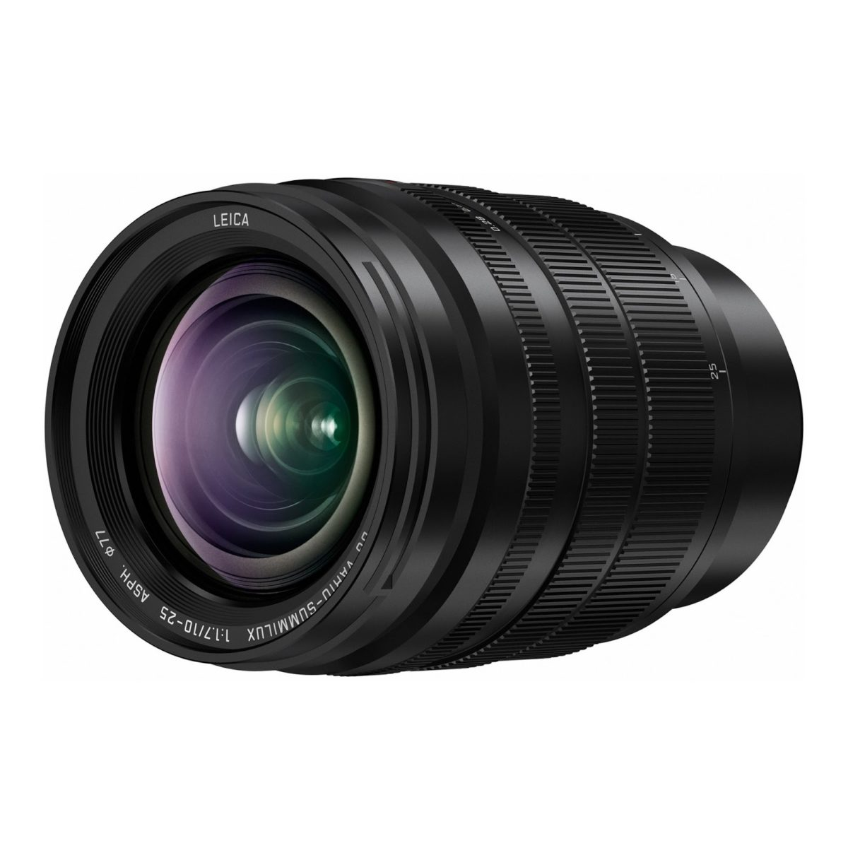 Images of Panasonic Leica DG Vario-Summilux 10-25mm f/1.7 ASPH MFT lens and Panasonic 1.4x/2.0x teleconverters for L-mount
