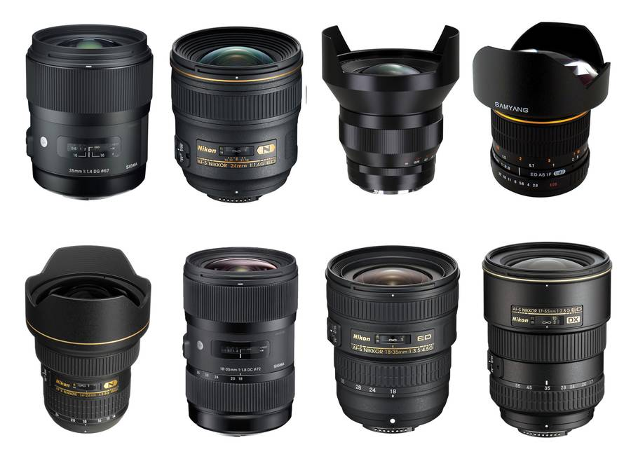 Best Wide Angle Lenses for Nikon DSLRs