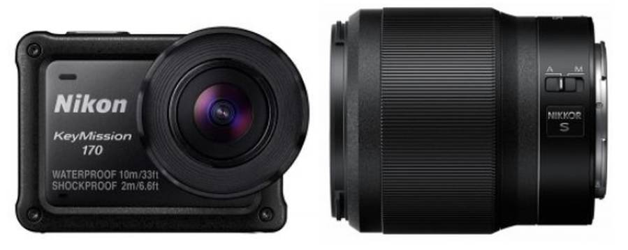 New firmware updates for the Nikkor Z 50mm f/1.8 S lens and KeyMission 170 camera