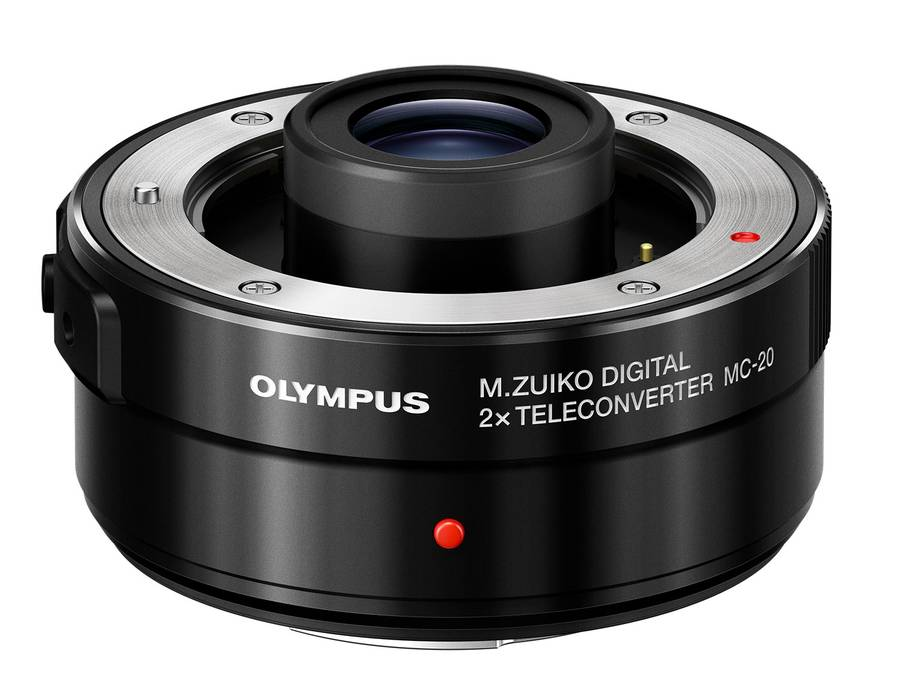 Olympus MC-20 2x Teleconverter for 40-150mm f/2.8 and 300mm f/4 Pro Lenses