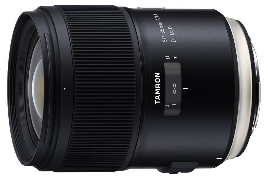 Tamron SP 35mm f/1.4 Di USD Announced for full-frame Canon, Nikon DSLRs