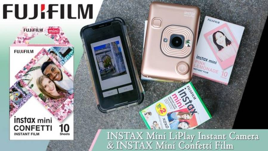 Fujifilm INSTAX Mini LiPlay Instant Camera, Price $159.95
