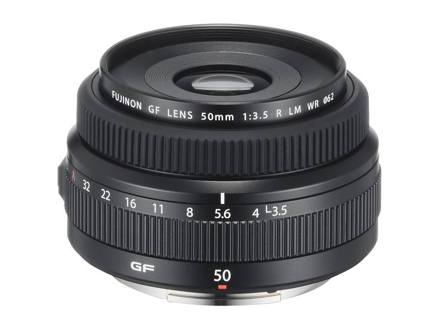Fujifilm GF 50mm f/3.5 R LM WR Lens Announced