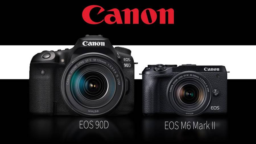 Canon Releases the EOS 90D and M6 Mark II with 32MP Sensor and 4K Video