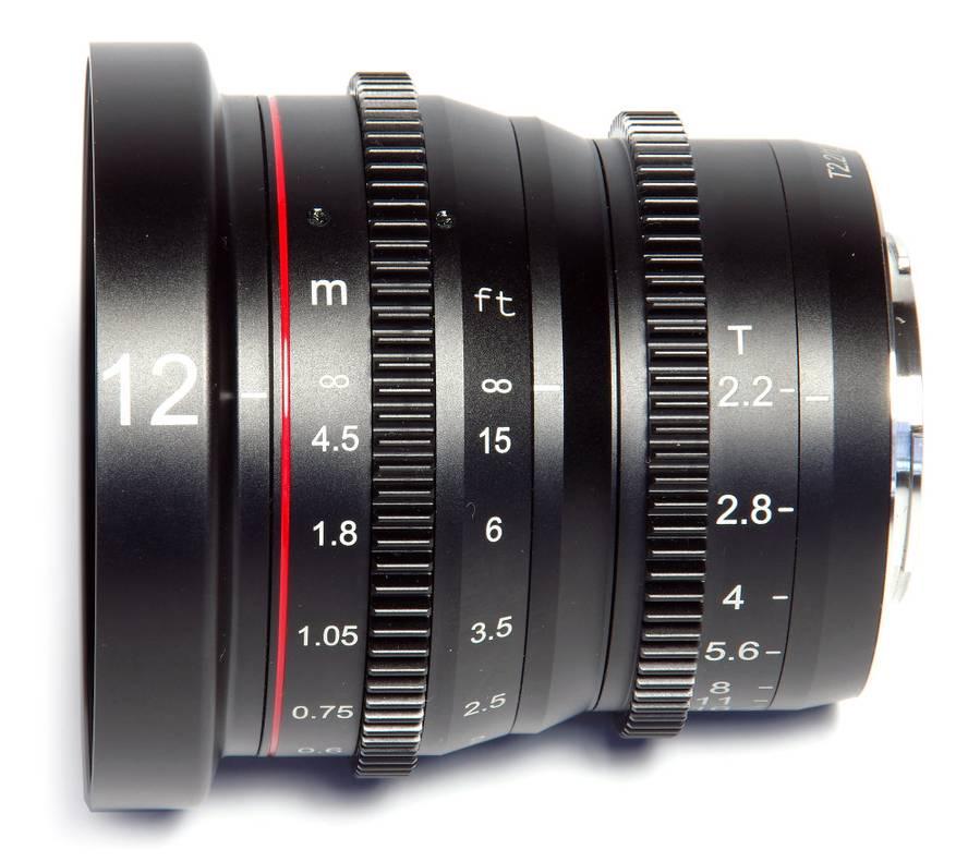 Meike MK-12mm T2.2 Cine Lens for Micro Four Thirds Cameras