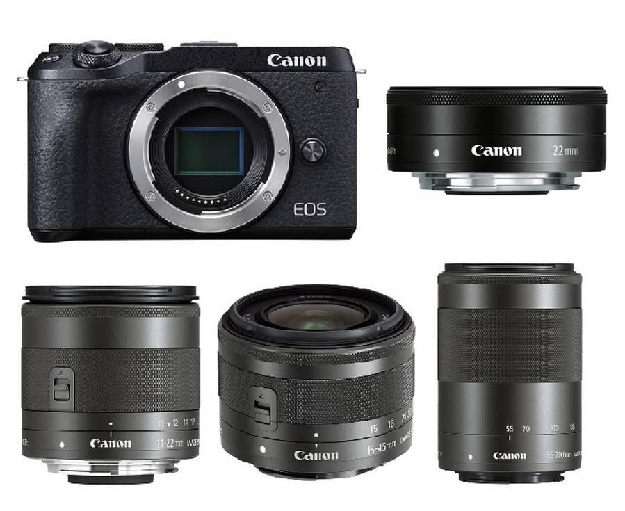 Best Lenses for Canon EOS M6 Mark II