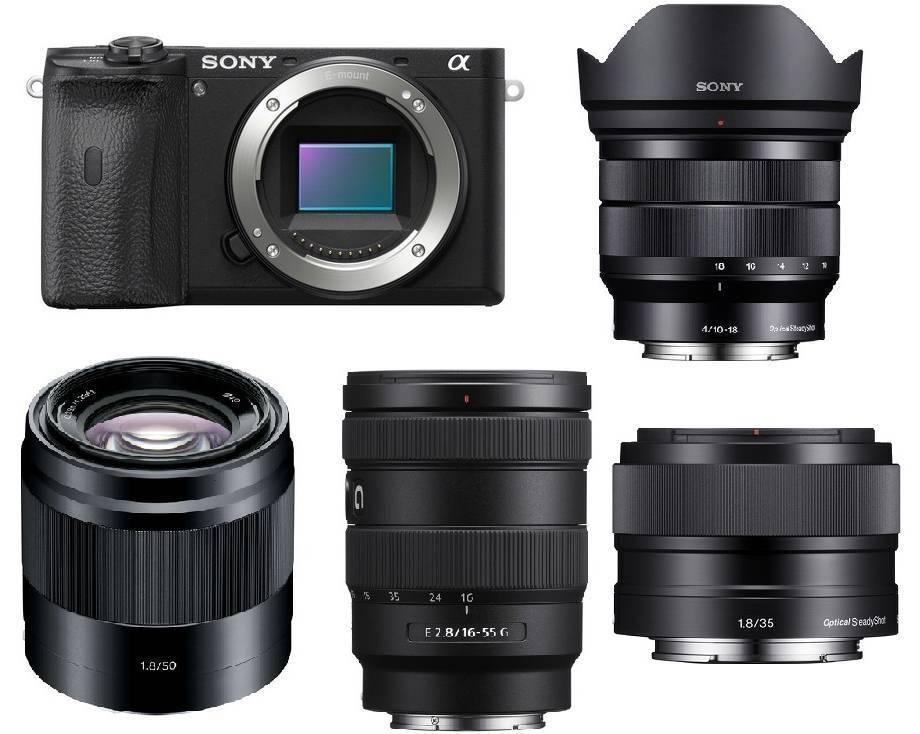 Best Lenses for Sony a6100