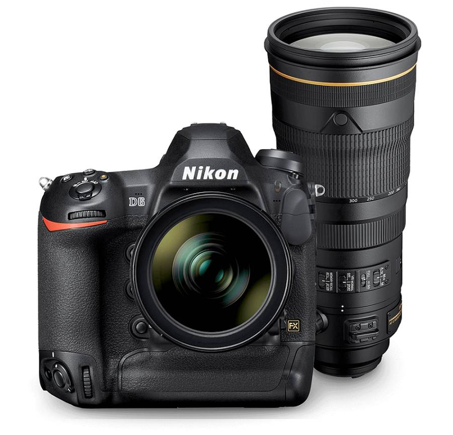 Nikon D6 and AF-S NIKKOR 120-300mm f/2.8E FL ED SR VR Development Announcement