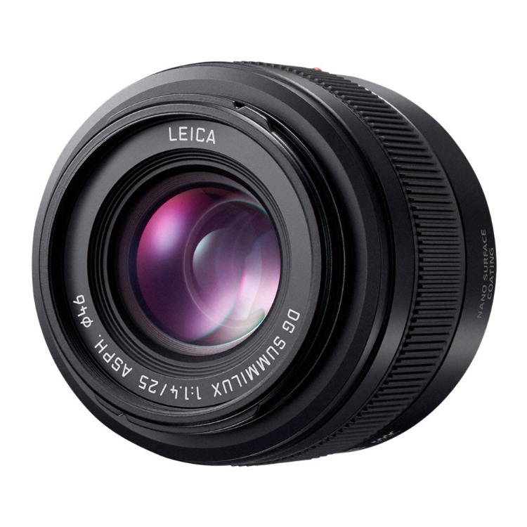 Panasonic Leica DG Summilux 25mm f/1.4 II ASPH Lens Announced