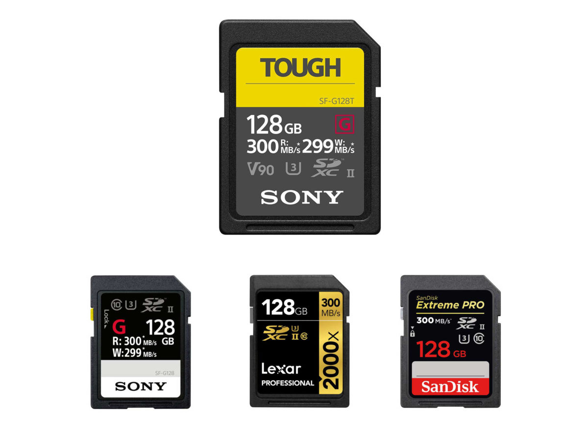 Best Memory Cards for Canon EOS 90D