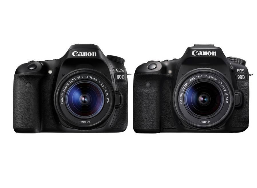 Canon EOS 90D Vs Canon EOS 80D  – Comparison