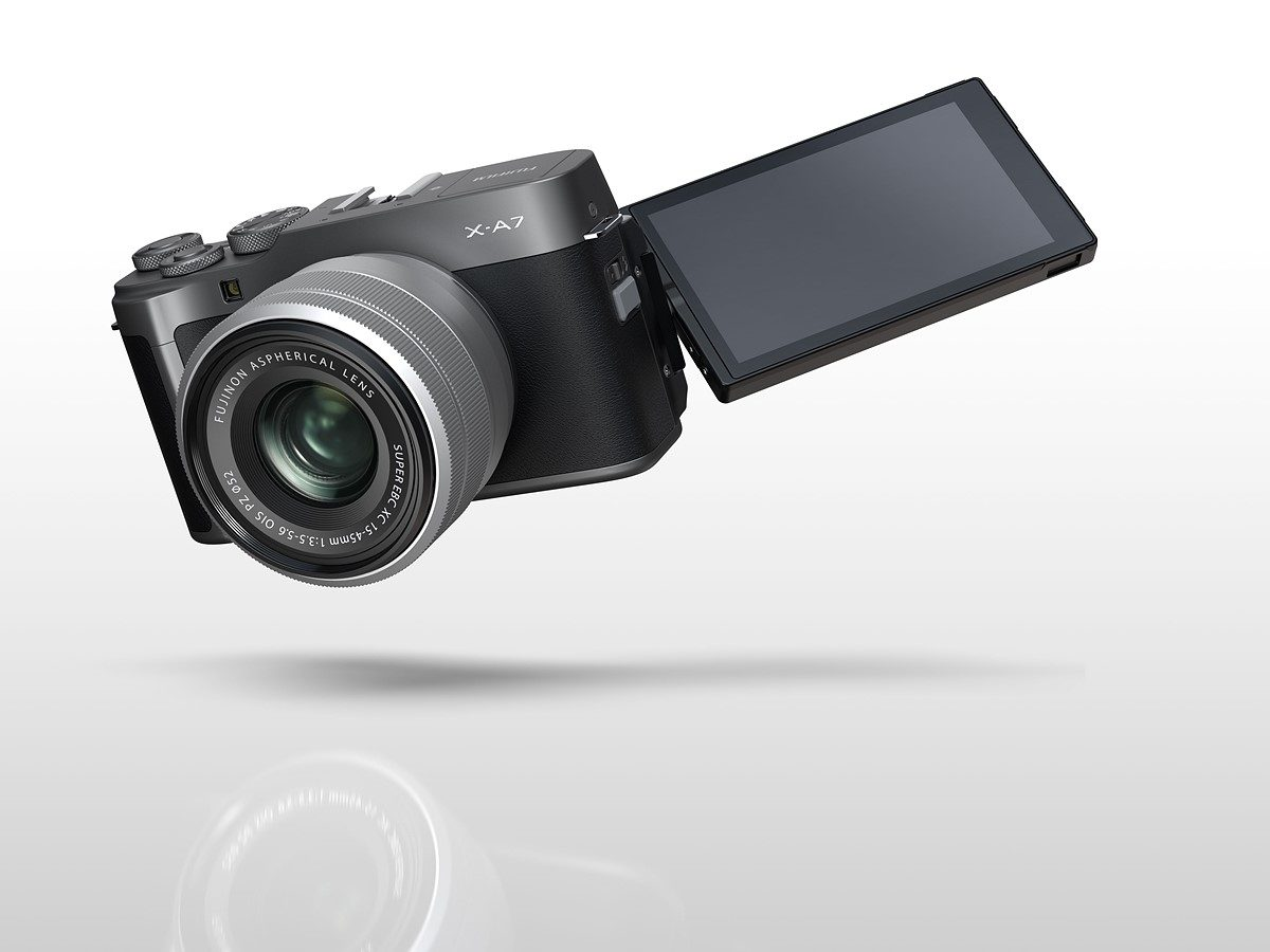 Fujifilm X-A7 unveiled with improved AF, 4K/30p video and $700