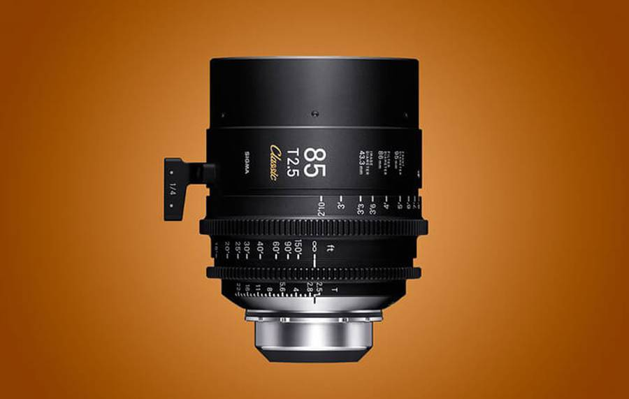 SIGMA announces the FF Classic Prime Line of CINE lenses and More