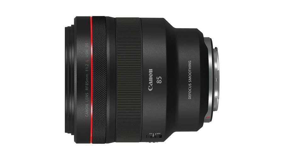 Canon RF 70-200mm f/2.8L IS USM, RF 85mm f/1.2L USM DS Lenses Images & Specs