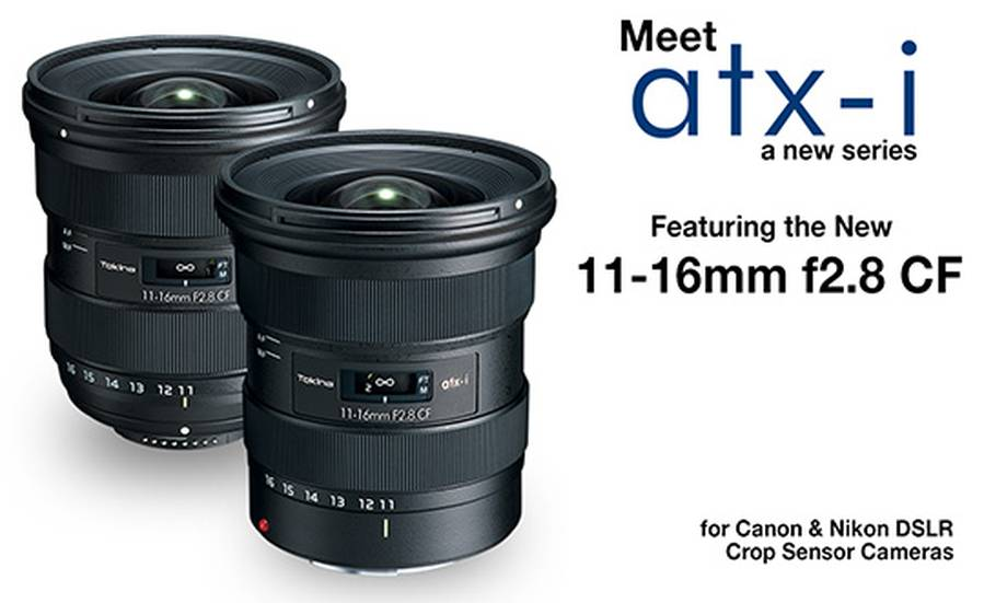 Tokina ATX-i 11-16mm f/2.8 CF Lens for APS-c DSLRs