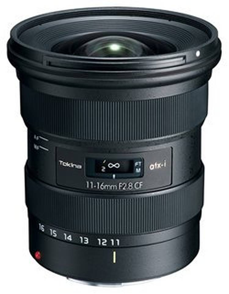 Tokina ATX-I 11-16mm f/2.8 CF Lens for Canon & Nikon Mount to be Announced Soon
